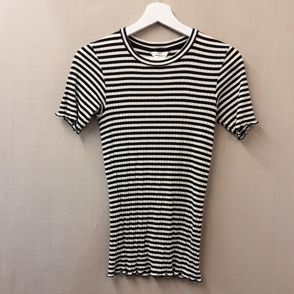 Multi Mads Nordgaard Striped T-Shirt Size XS
