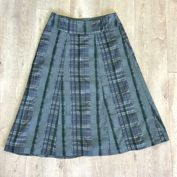 Per Una Green Long Skirt Size 10