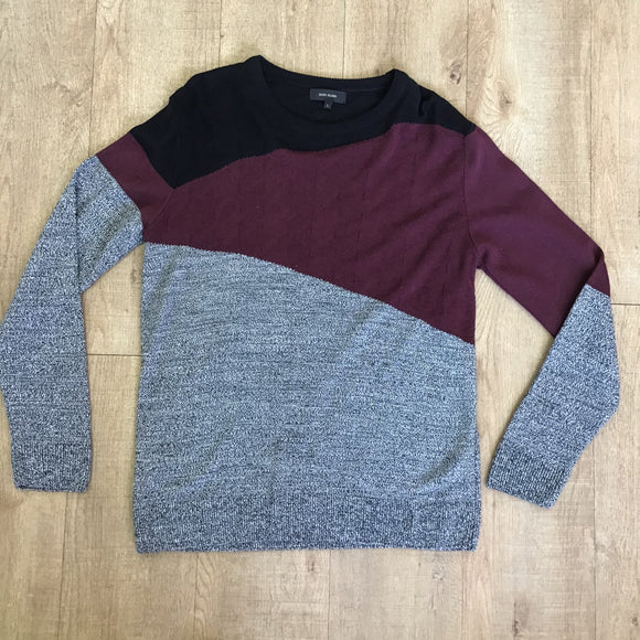 River Island Colour Block Jumper Size L