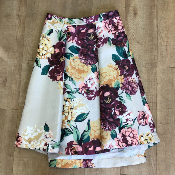 BNWT Autograph Bold Floral Skirt Size 14
