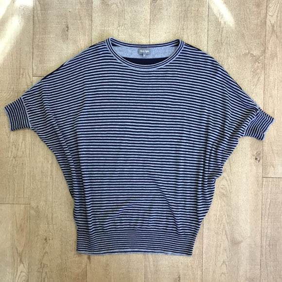 Phase Eight Grey and Blue Knit Size M