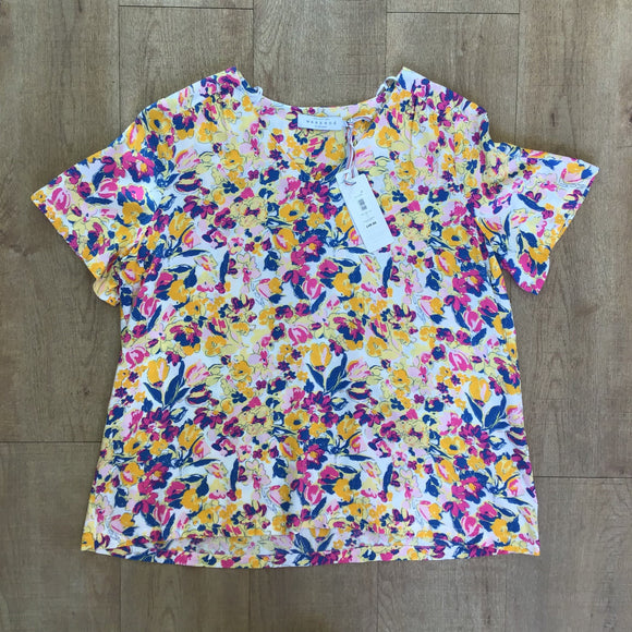 BNWT Weekend by John Lewis Floral Top Size 14