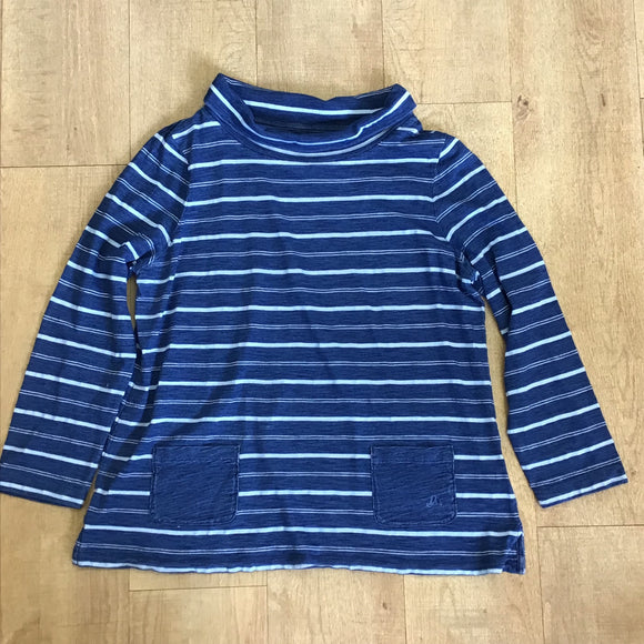 Mantaray Blue Striped Top Size 16