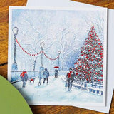 Christmas Park Walk Shelter Charity Christmas Cards