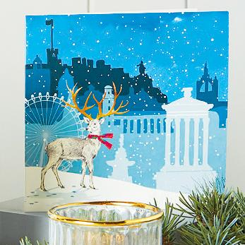 City Stag Shelter Charity Christmas Cards