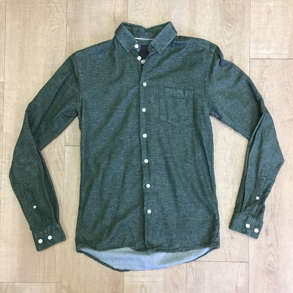 Minimum 100% Cotton Green Shirt Size XS