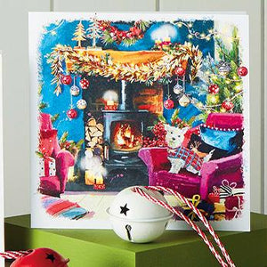 Fireside Westie Shelter Charity Christmas Cards