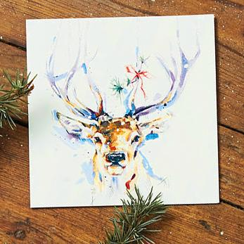Flitter Stag Shelter Charity Christmas Cards