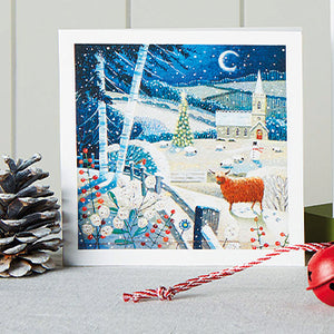 Highland Winter Scene Shelter Charity Christmas Cards