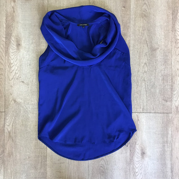 River Island Blue Top Size 6