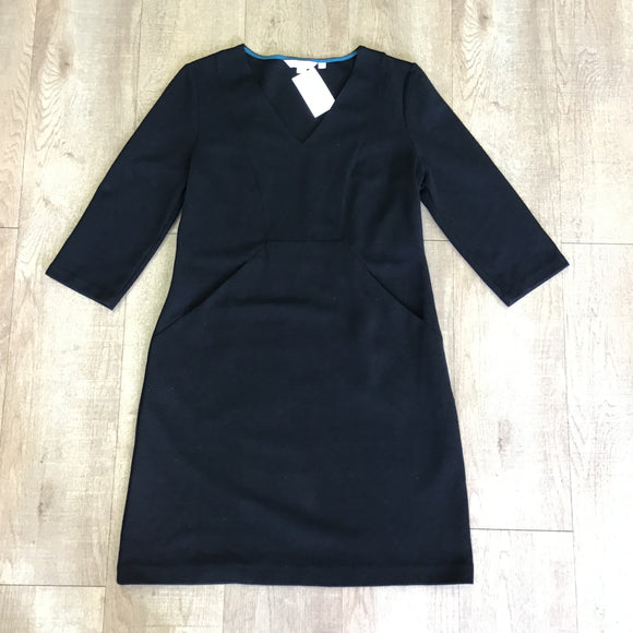 Boden Black Dress Size 12P