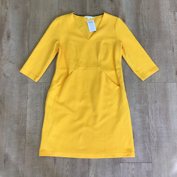 Boden Yellow Dress Size 12P