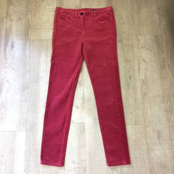 Twiggy For M&S Red Velvet Jeans Size 12
