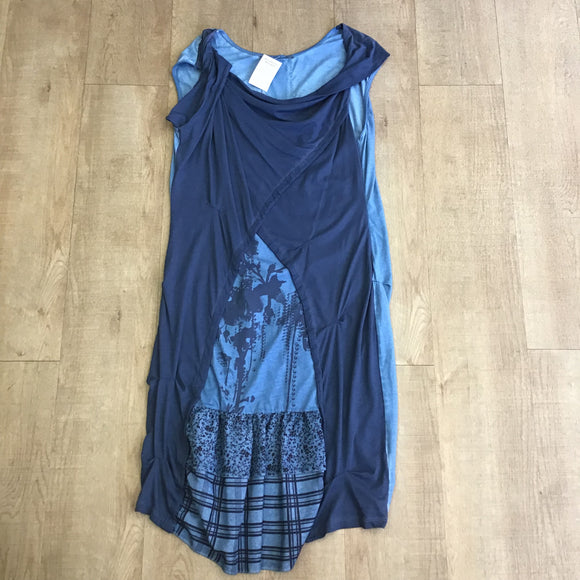 Angels Never Die Blue Cotton Dress Size 4