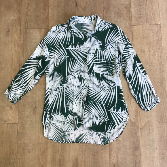 Mikoh Green Shirt Size M