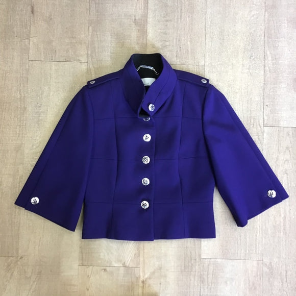 Karen Millen Purple Jacket Size 12