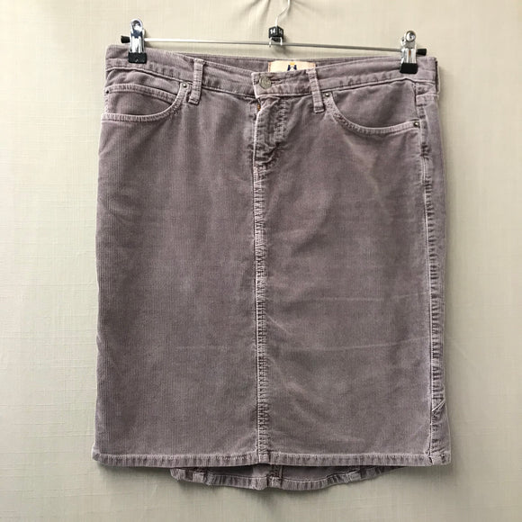 Purple Juicy Couture Jeans Cord Skirt Size L