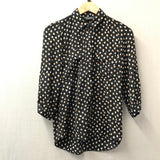 Brown/Black Dorothy Perkins Blouse Size 6