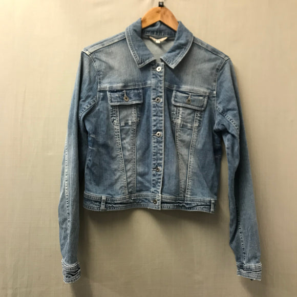 Blue Indigo Denim Jacket Size 12