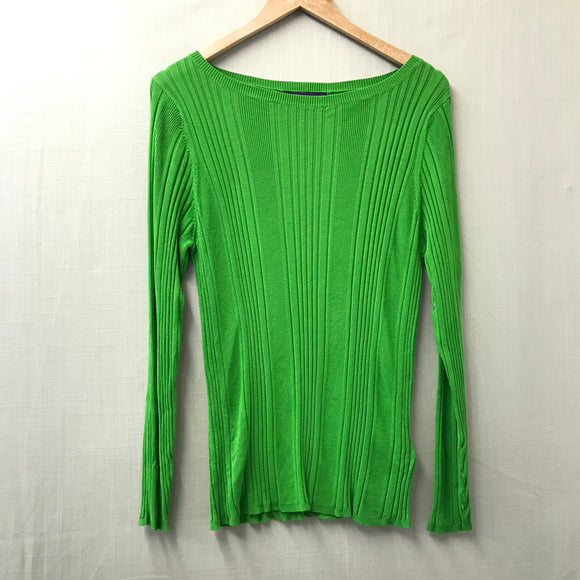 Green M&S Jumper Size 18