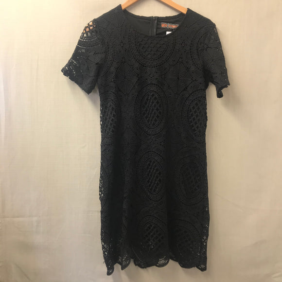Black QED London Dress Size 10