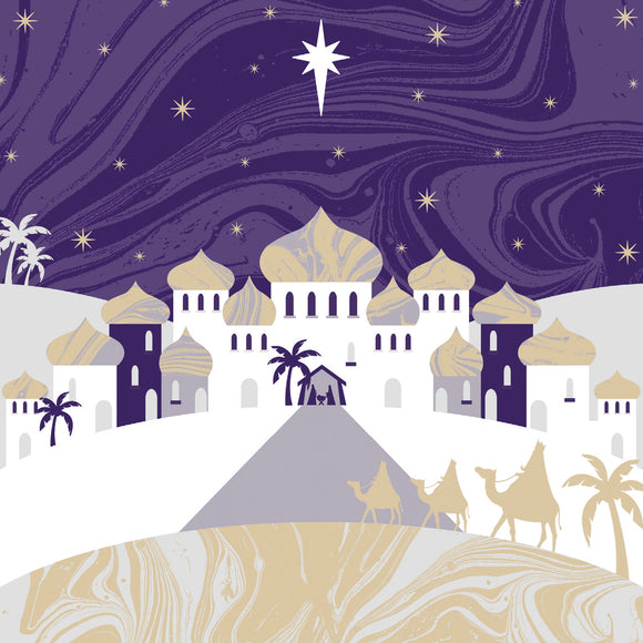 Town of Bethlehem Christmas cards, pack of 10