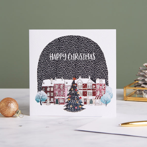 Snowglobe Street Shelter Charity Christmas Cards