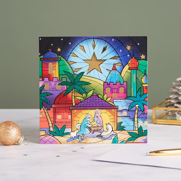 Silent Night Shelter Charity Christmas Cards