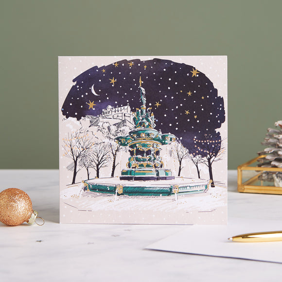 Ross Fountain Shelter Charity Christmas Cards