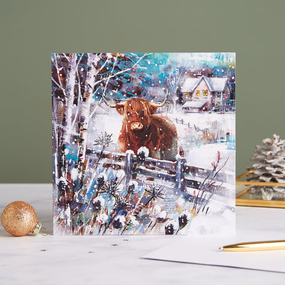 A Highland Winter Shelter Charity Christmas Cards