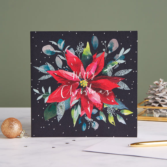 Poinsettia Shelter Charity Christmas Cards