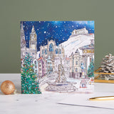 Edinburgh Landmarks charity Christmas cards, pack of 10