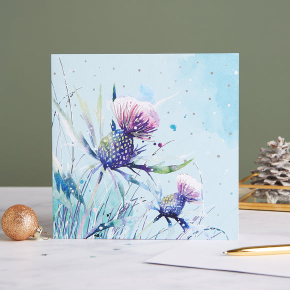 Frosty Thistle Shelter Charity Christmas Cards