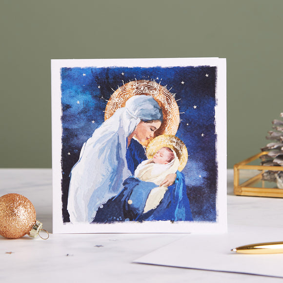 Madonna and Child Shelter Charity Christmas Cards
