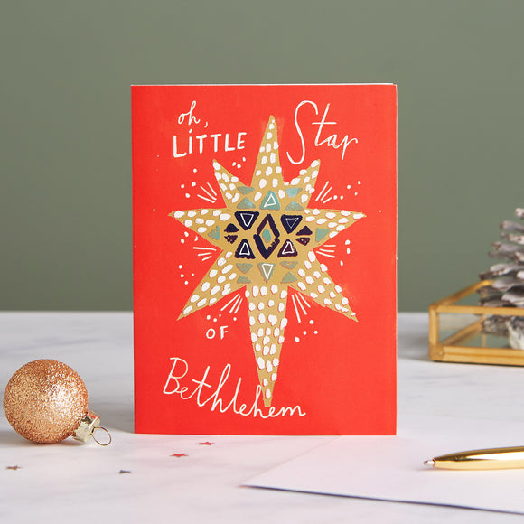 Oh Little Star Shelter Charity Christmas Cards