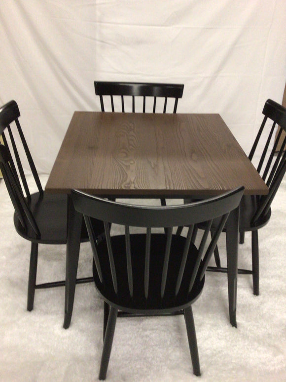 Dining Table and 4 Chairs (New)
