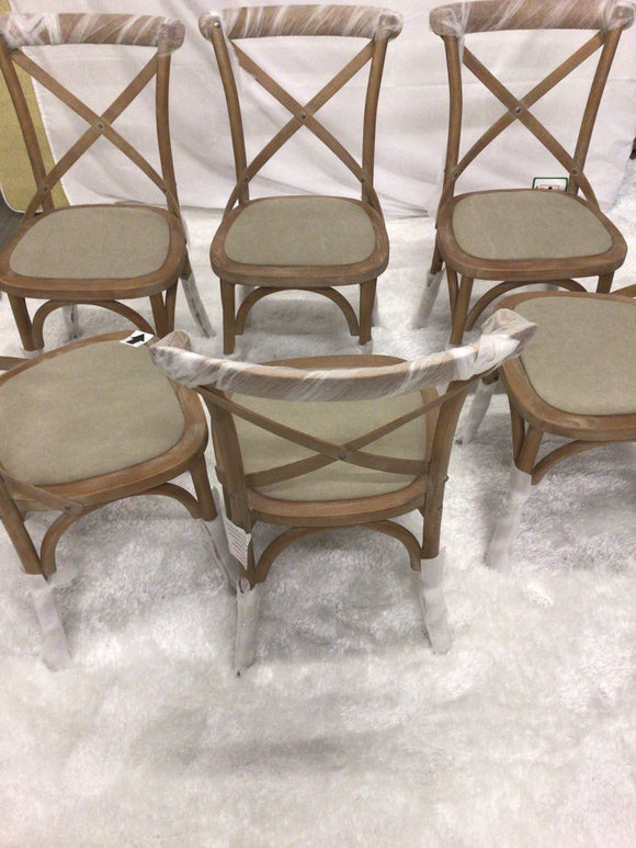 Brand New Dining chairs x 2 left
