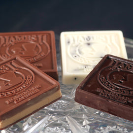 James J Chocolate Peanut Butter Bars