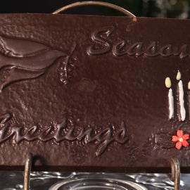 Seasons Greetings Chocolate Card