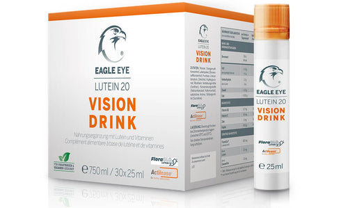 Eagle Eye Vision Lutein 20 Drink - Quartalspackung