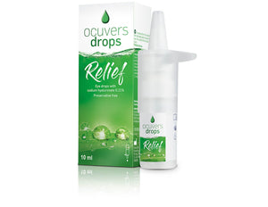 ocuvers drops Relief - 10 ml Pumpflasche