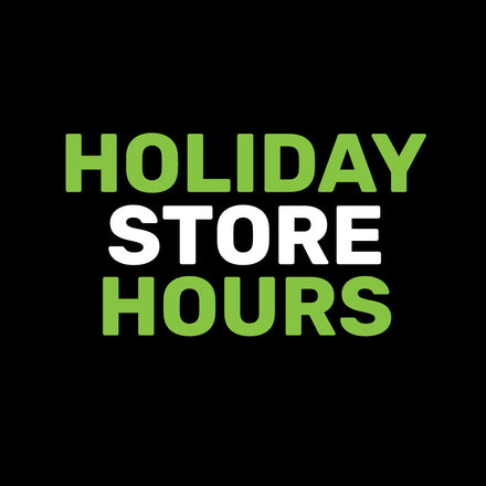 Holiday Hours & Holiday Delivery Service Notice