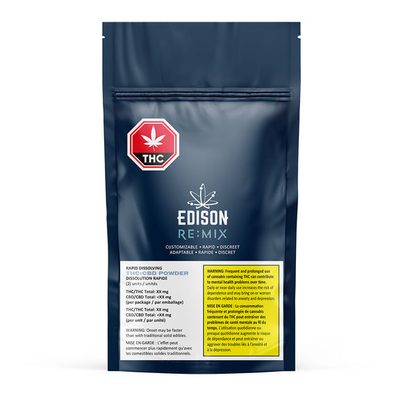 Edison Re Mix THC/CBD Powder
