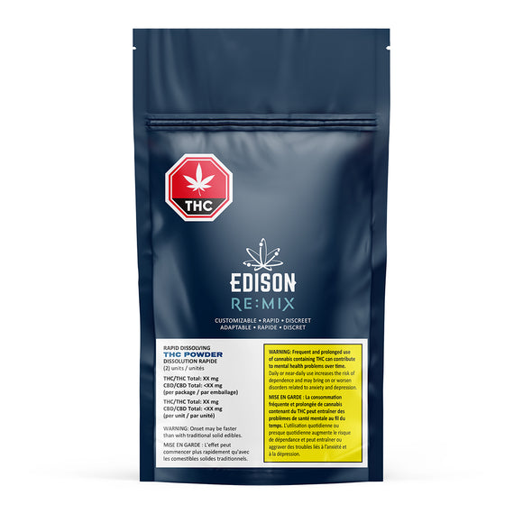 Edison Re Mix THC Powder