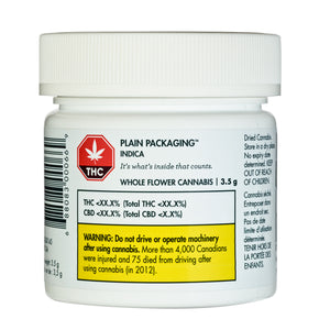 Plain Packaging Indica Flower
