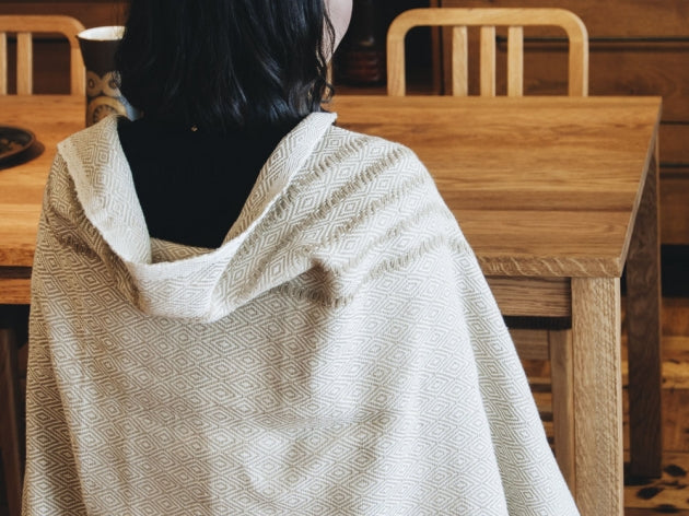 Hand Woven Throw