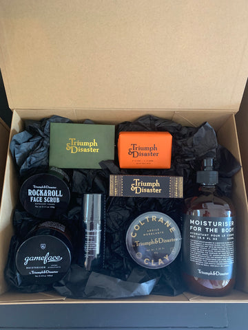 Buster McGee Triumph & Disaster Sample Gift Box