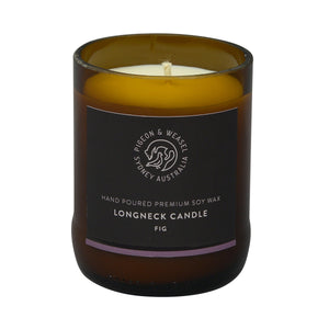 Pigeon & Weasel Fig Longneck Candle