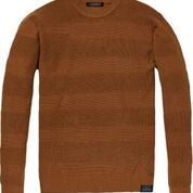Load image into Gallery viewer, Chic Crewneck Pullover in Structured Knit