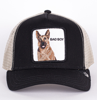 Goorin Bros - Bouncer Trucker Cap in Black | Buster McGee Daylesford